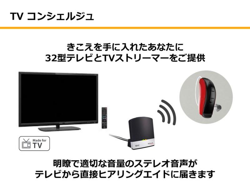 シニア向け商品 TVコンシェルジュ