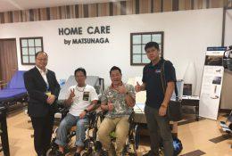 バンコク中心にあるISETAN内には、多くの富裕層が日本製の介護用品を買い求めに来ます。
