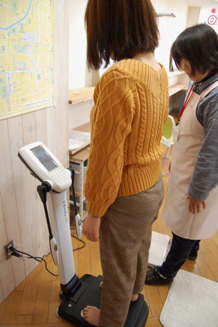 松本ヘルス・ラボ・オフィス 体組成計で骨密度の計測が可能