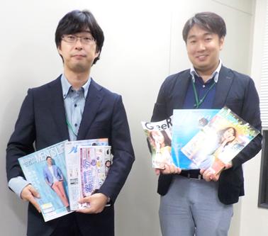 笑いも交え丁寧にインタビューに応じてくださった田村氏と高橋氏
