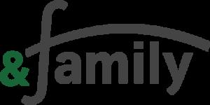 株式会社 and family _ロゴ