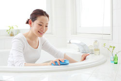 お風呂掃除にはシニアの健康寿命を延ばす効果が